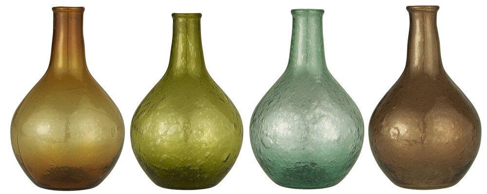 Ib Laursen 4er Set Vasen UNIKA