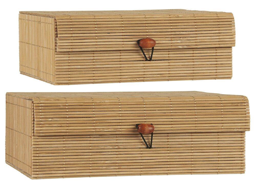 Ib Laursen Bambus Schachteln 2er
