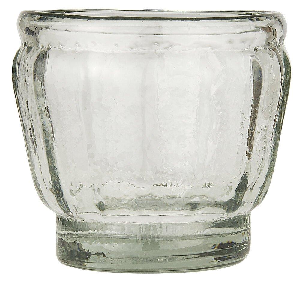 Ib Laursen Glas mit Rillen