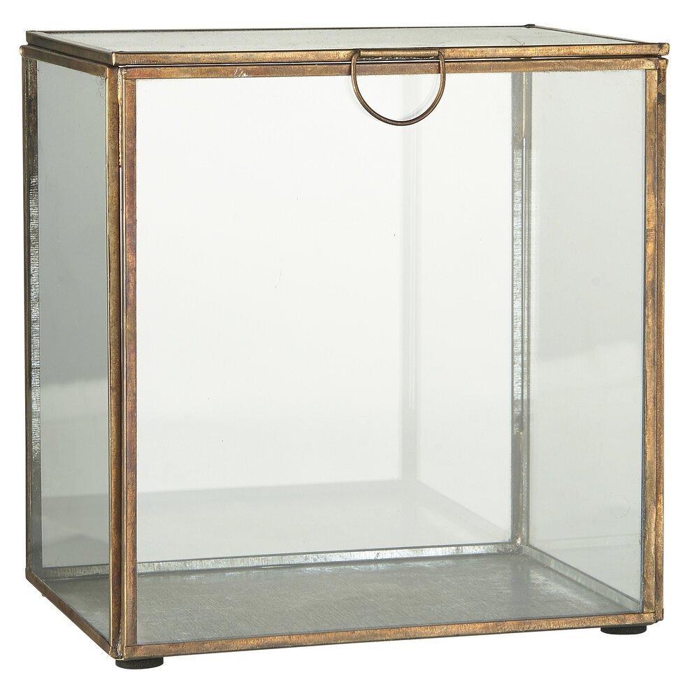 Ib Laursen Glaskiste mit Deckel
