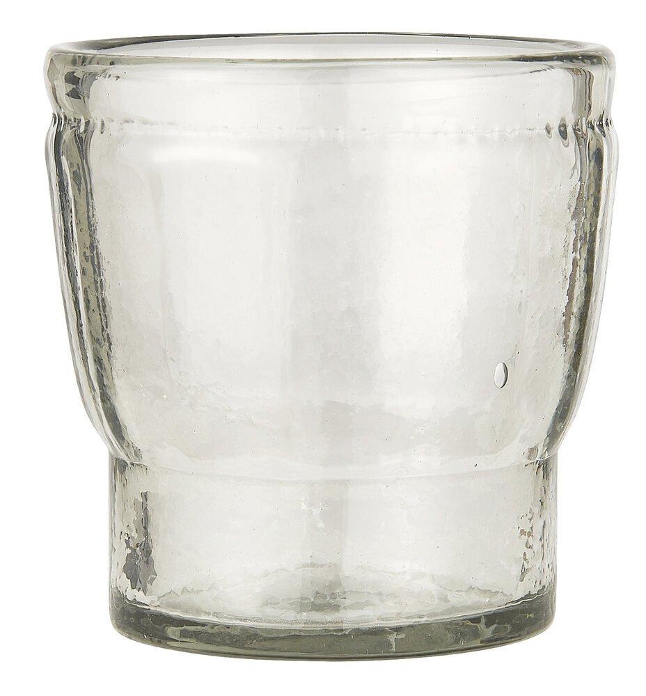 Ib Laursen Mini Glas Topf mit Rillen