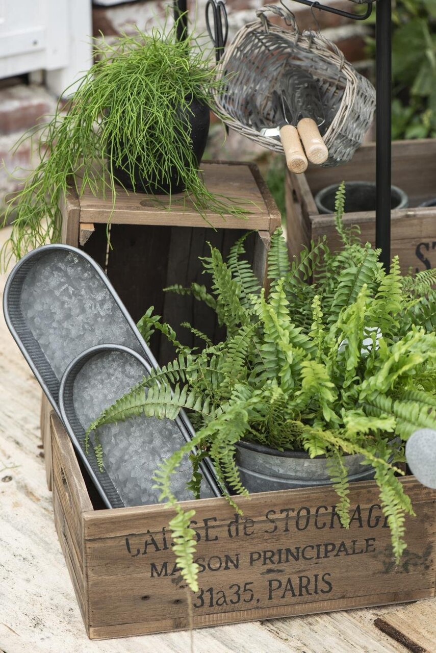 Impressionen zu Ib Laursen Pflanzkübel 3er Set mit Henkeln Urban Garden, Bild 2