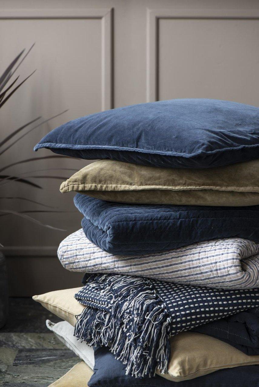 Impressionen zu Ib Laursen Plaid Decke mit Eckmuster, Bild 8