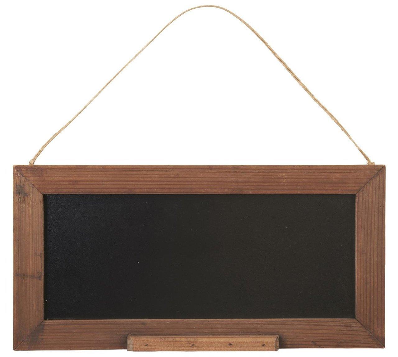Ib Laursen Tafel in Holzrahmen zum Aufhängen
