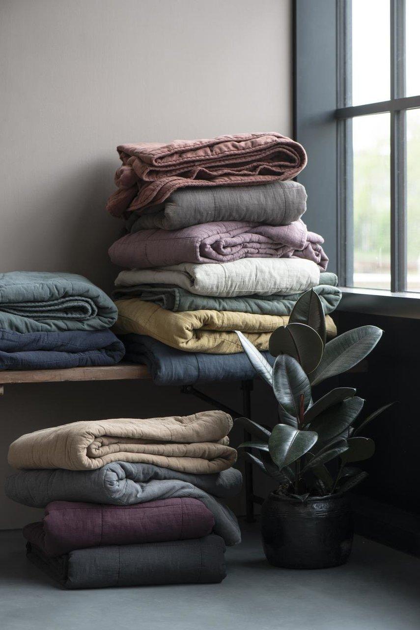 Impressionen zu Ib Laursen Tagesdecke Quilt unifarben, Bild 16