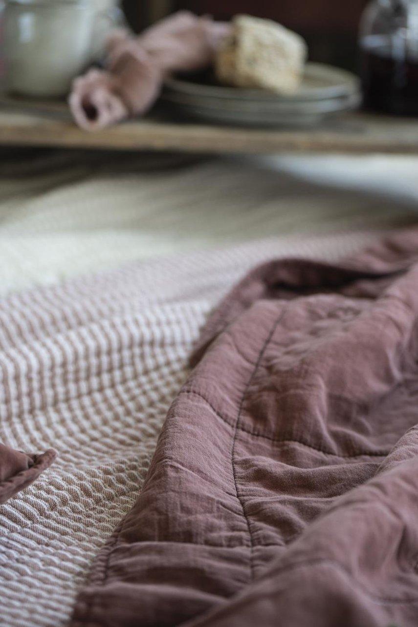 Impressionen zu Ib Laursen Tagesdecke Quilt unifarben, Bild 17