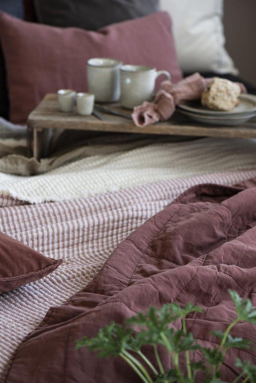 Impressionen zu Ib Laursen Tagesdecke Quilt unifarben, Bild 11
