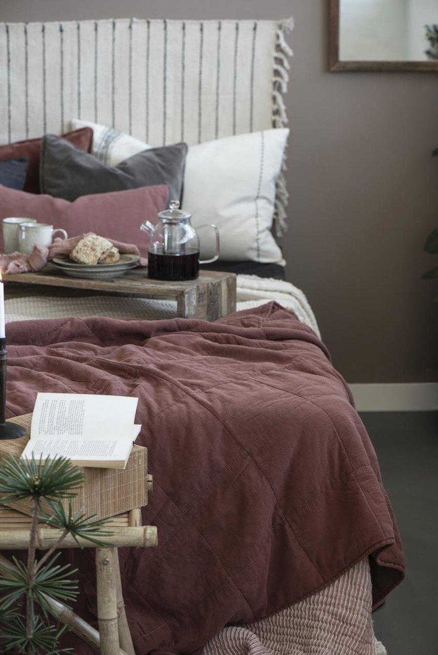 Impressionen zu Ib Laursen Tagesdecke Quilt unifarben, Bild 8