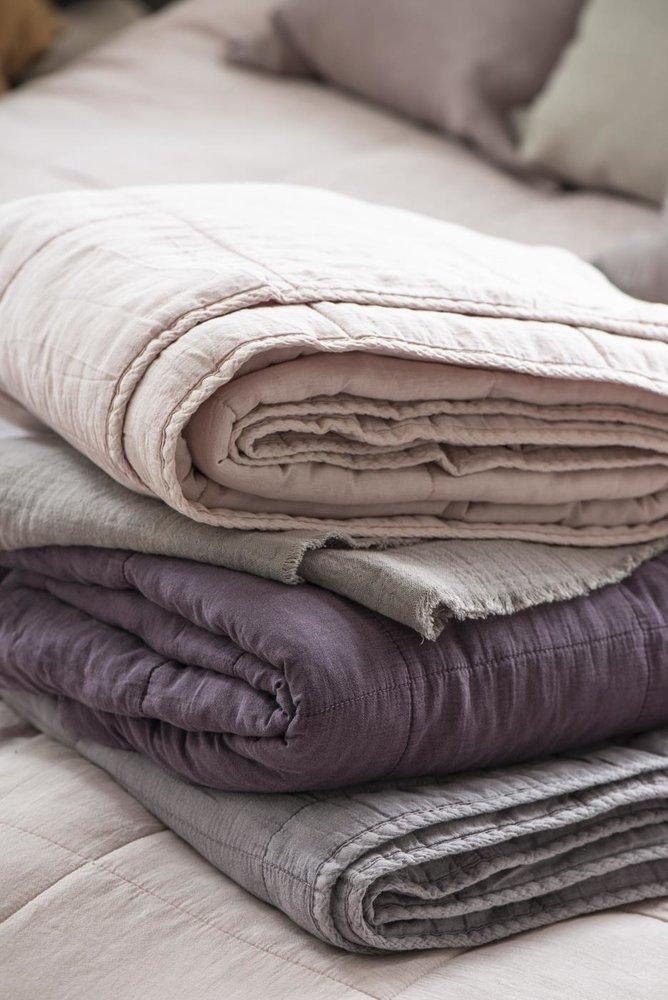 Impressionen zu Ib Laursen Tagesdecke Quilt unifarben, Bild 15