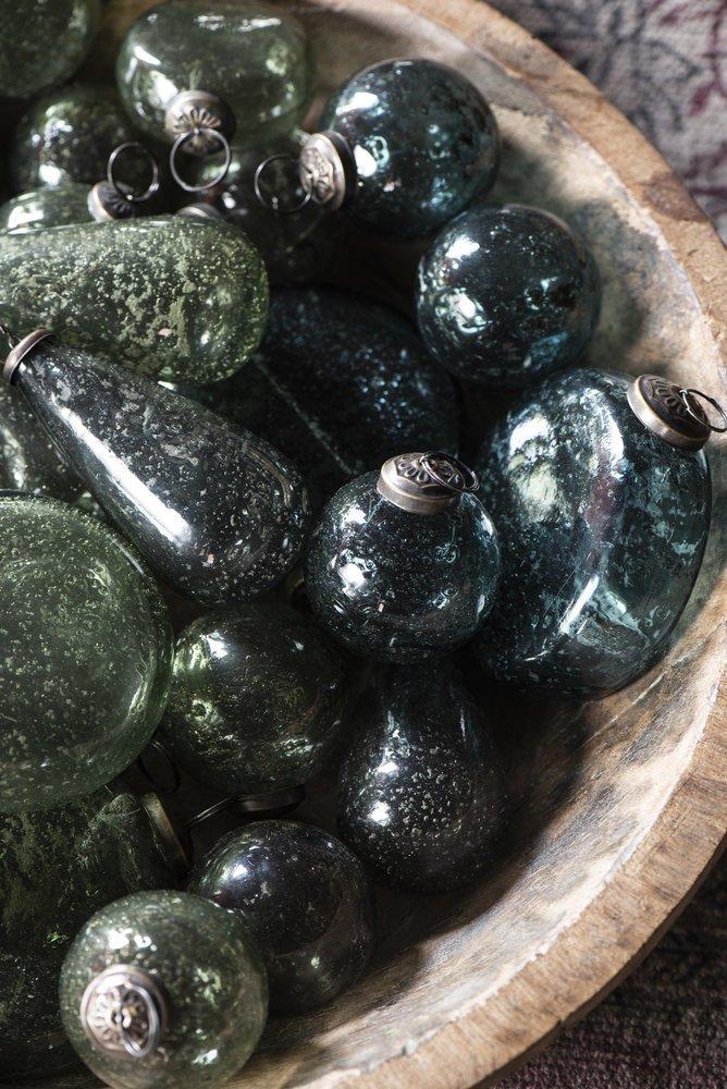 Impressionen zu Ib Laursen Weihnachtskugel Glas pebbled, Bild 2
