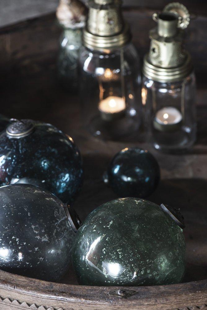 Impressionen zu Ib Laursen Weihnachtskugel Glas pebbled, Bild 10
