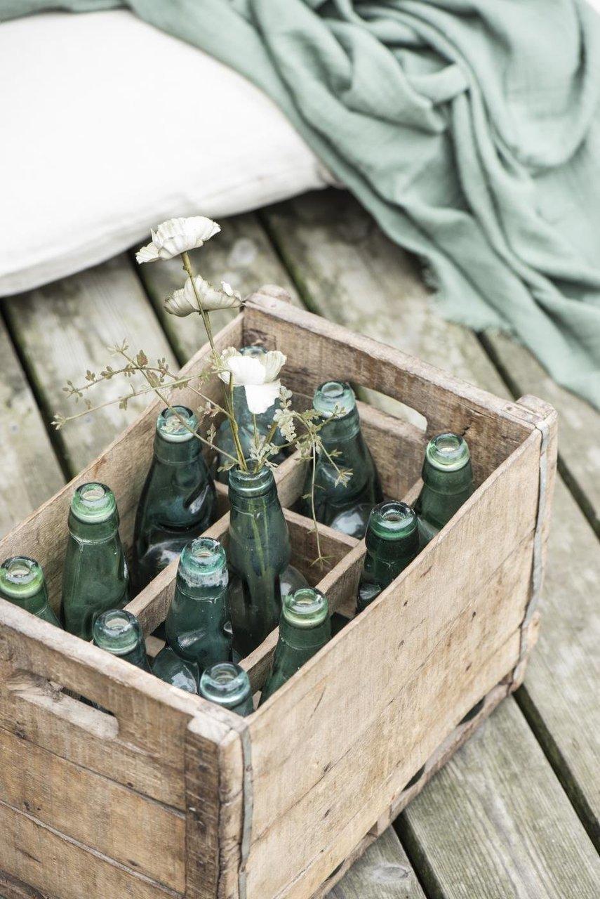 Impressionen zu Ib Laursen Indischer Holzkasten mit 12 Limoflaschen UNIKA, Bild 2