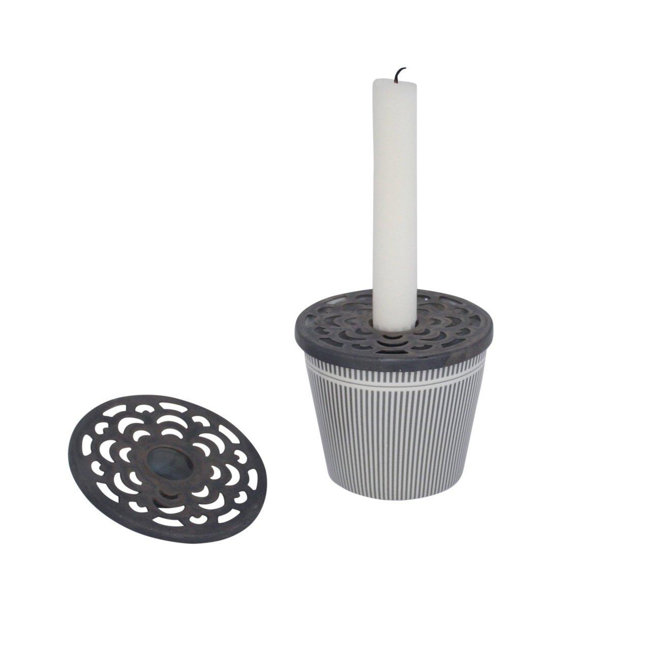 Krasilnikoff Kerzenhalter Aufsatz für Becher