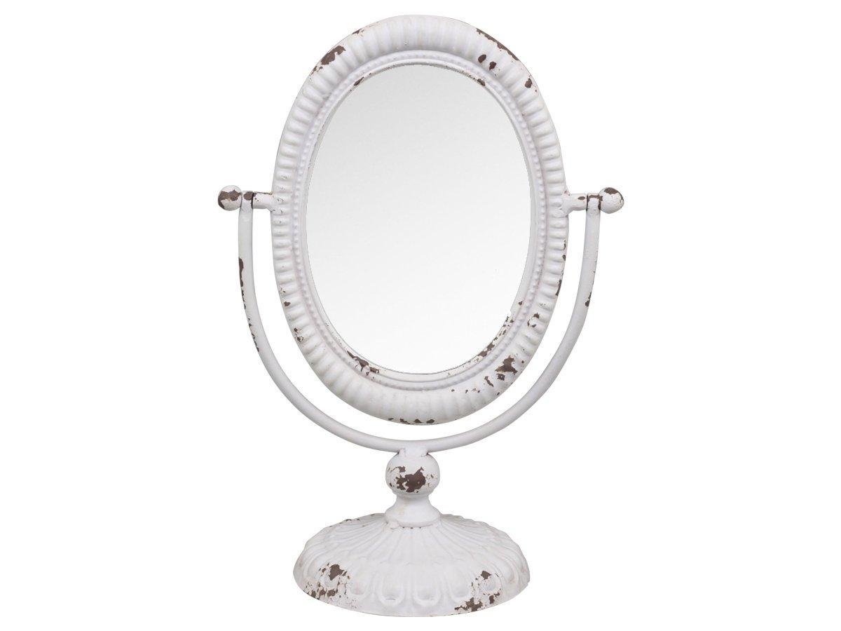 Chic Antique Kippspiegel auf Fuß Kosmetikspiegel