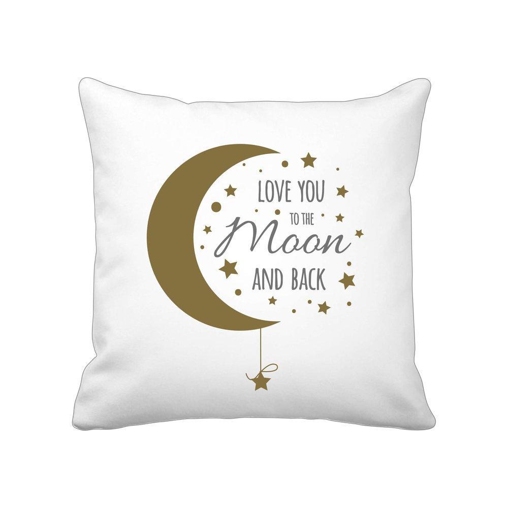 Krasilnikoff Kissenbezug Love you to the moon