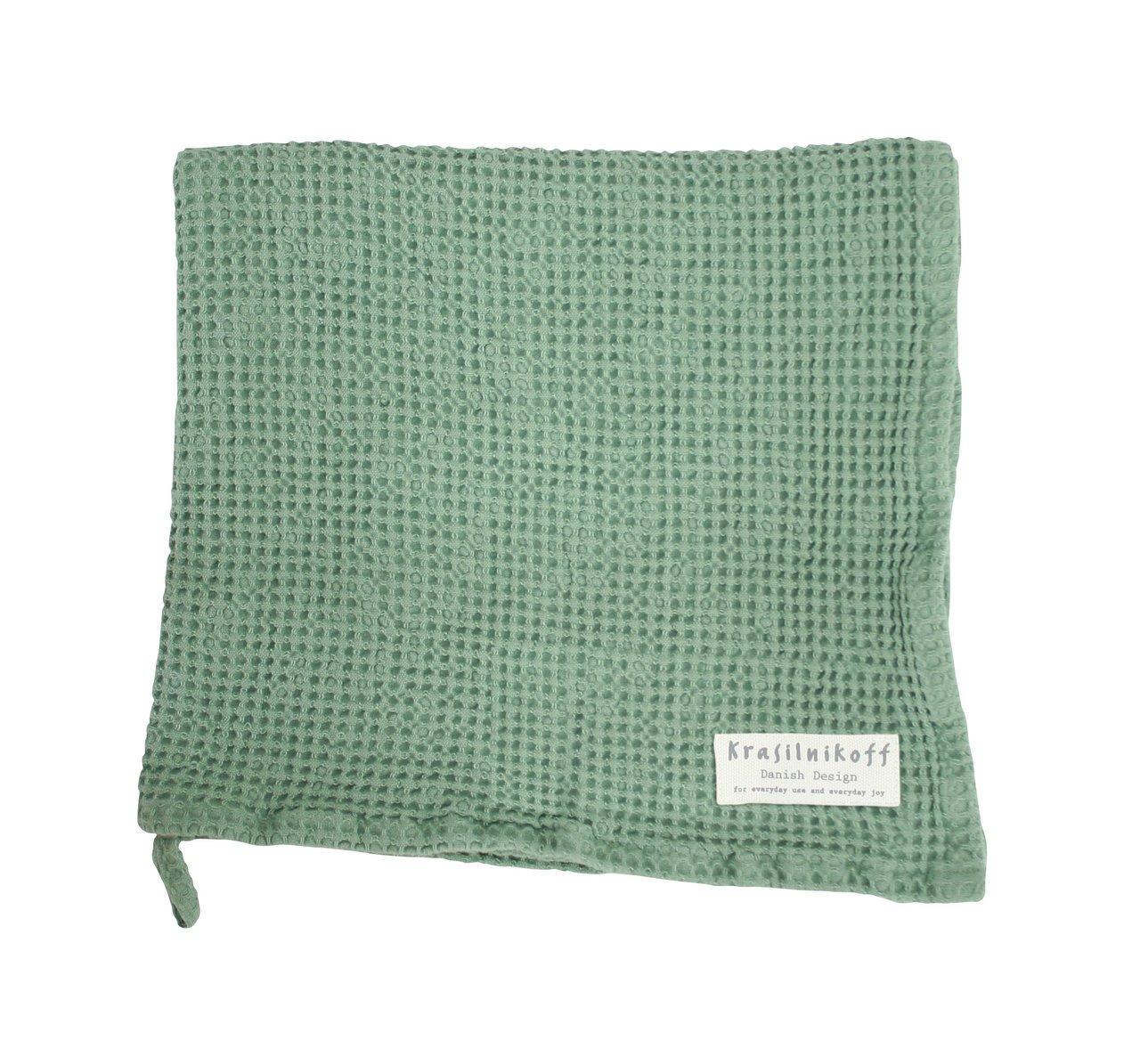 Krasilnikoff Bad-Handtuch mit Waffelstruktur