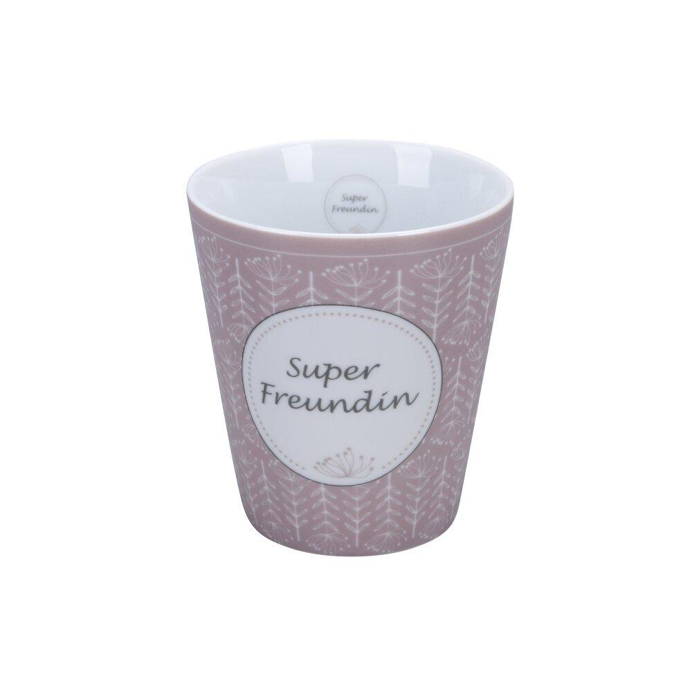 Krasilnikoff Becher Happy Mug Super Freundin