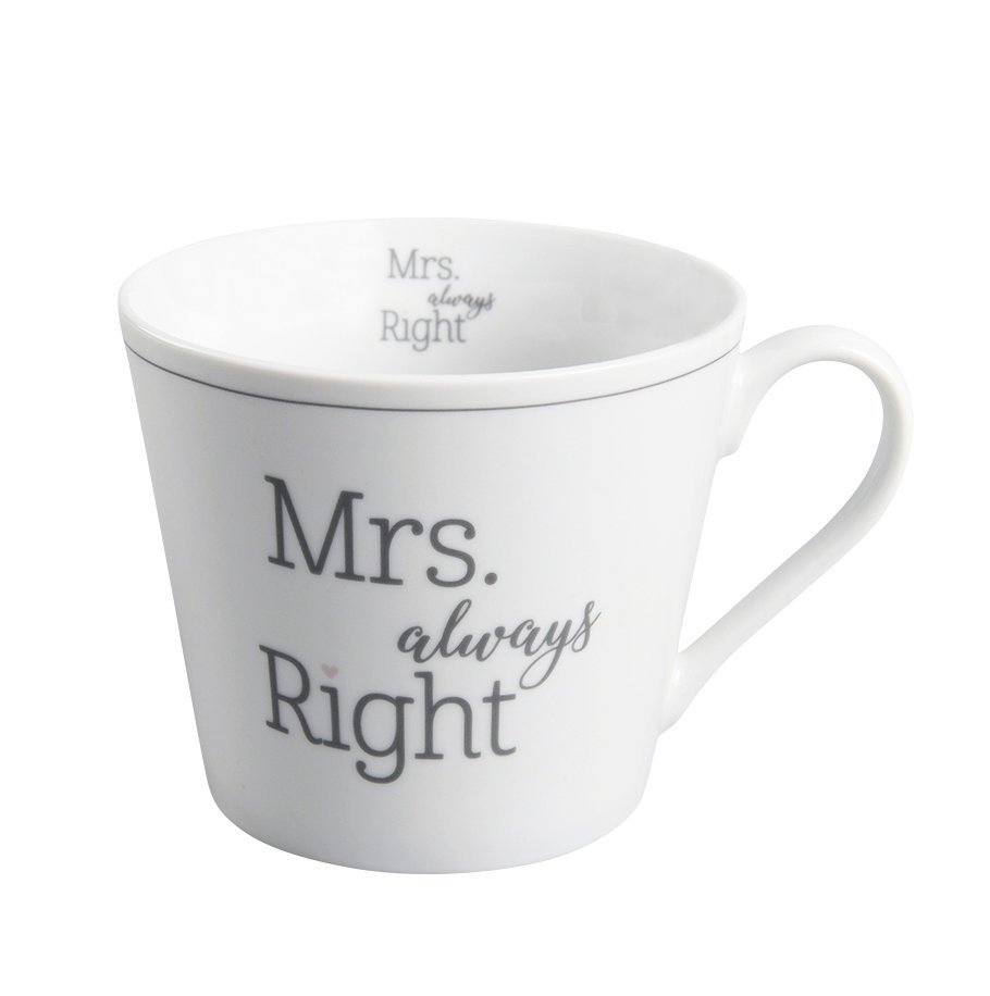 Krasilnikoff Happy Cup Mrs Always Right