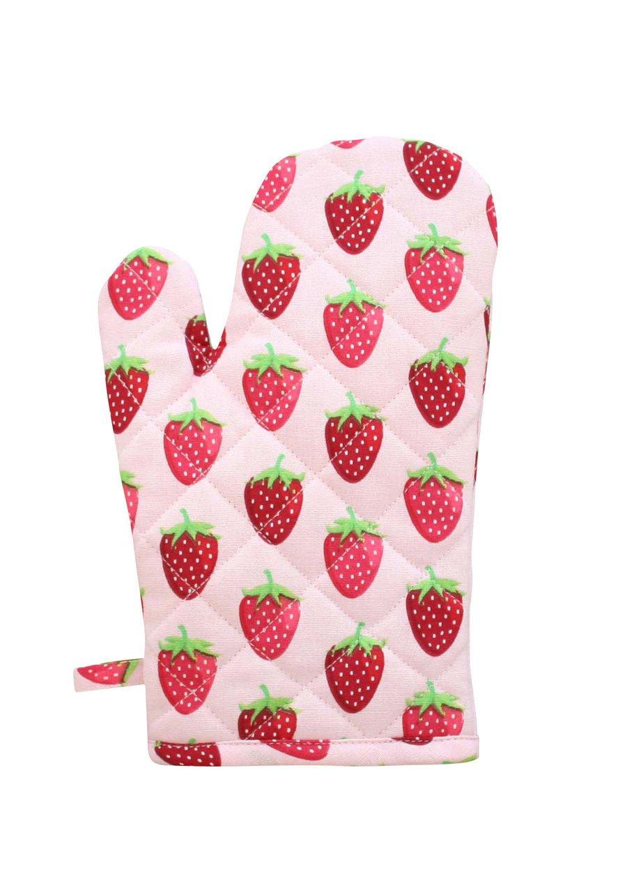 Krasilnikoff Ofenhandschuh Erdbeere