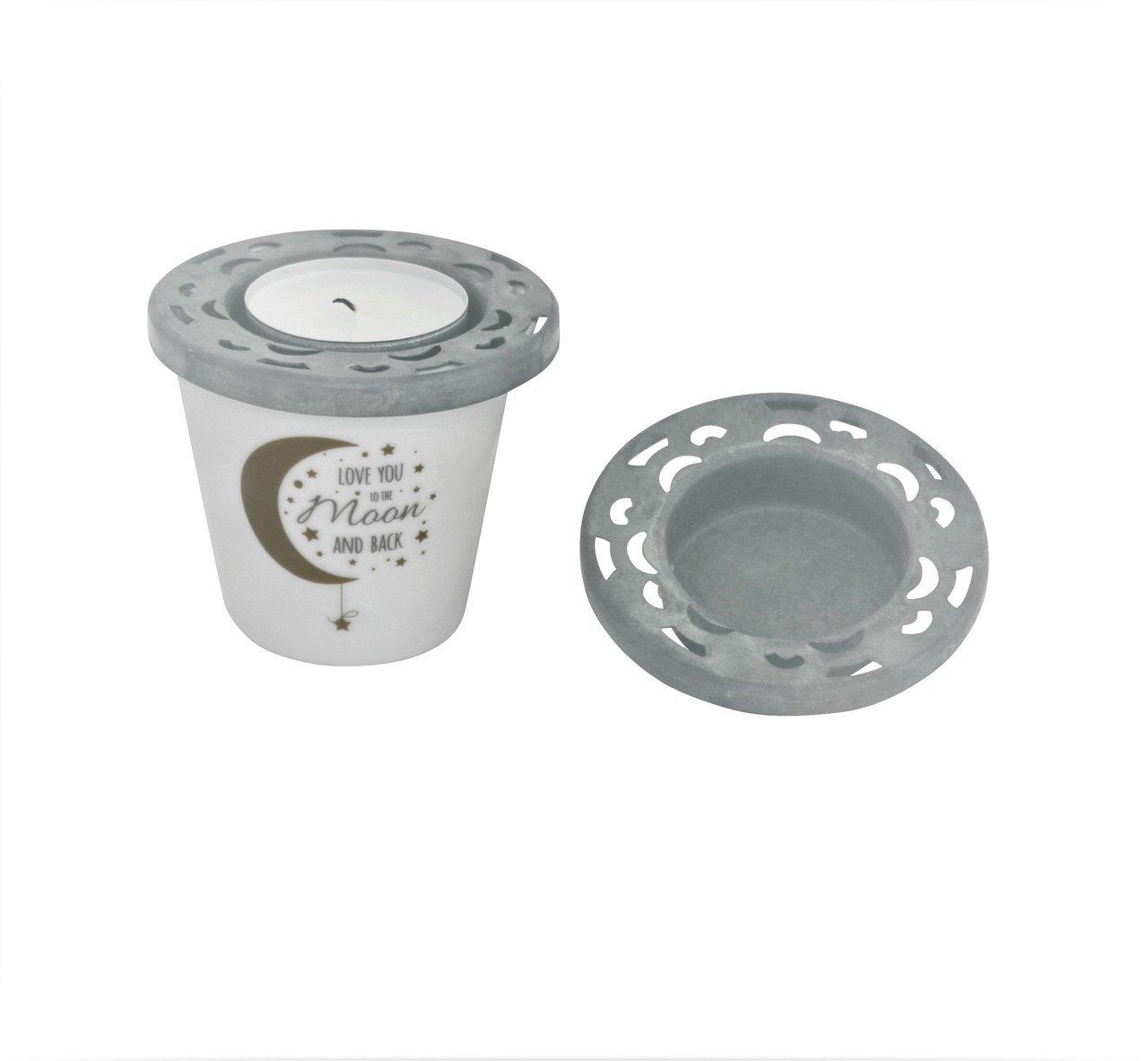 Krasilnikoff Teelicht Deckel aus Zink