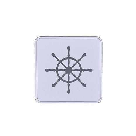 Krasilnikoff Untersetzer Ship Wheel