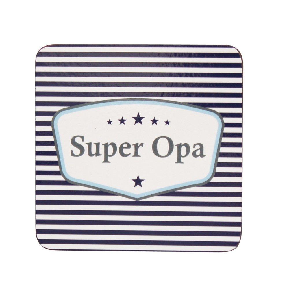 Krasilnikoff Untersetzer Super Opa