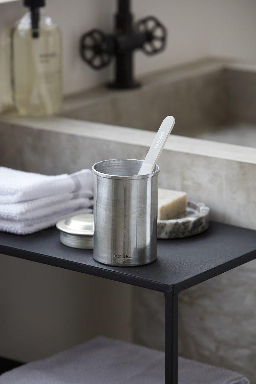 Impressionen zu Meraki Krug mit Deckel Silber-Finish, Bild 1