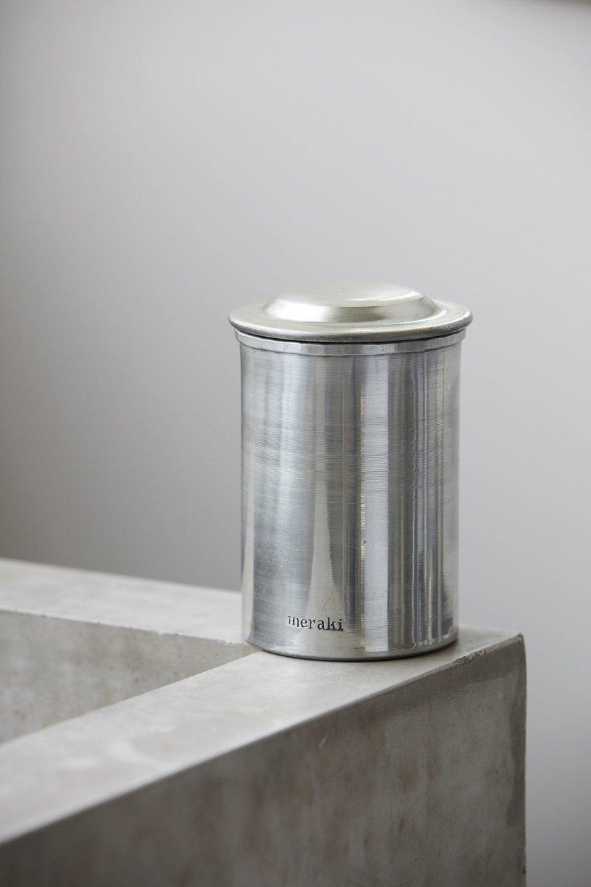 Impressionen zu Meraki Krug mit Deckel Silber-Finish, Bild 2