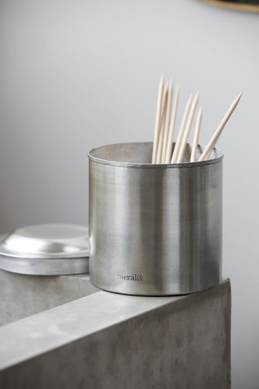 Impressionen zu Meraki Krug mit Deckel Silber-Finish, Bild 4
