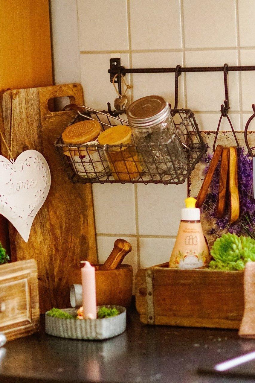 Küchennische im Landhausstil
