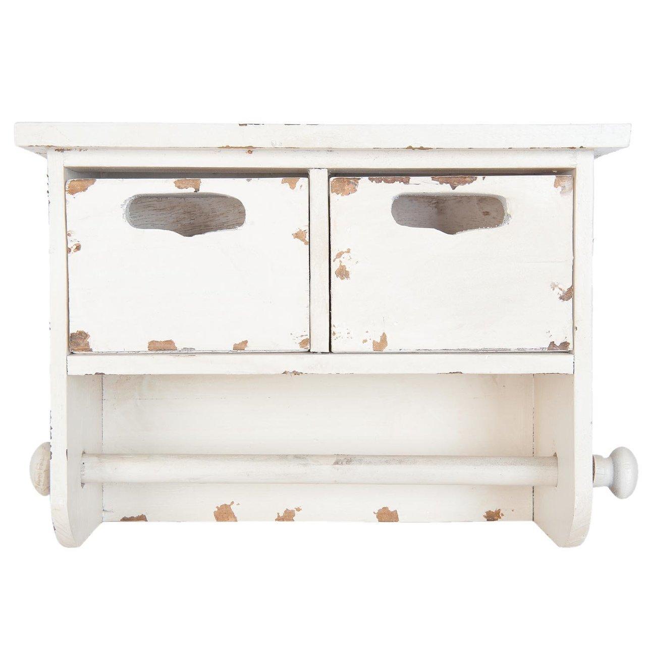 Clayre & Eef Küchenrollenhalter Vintage