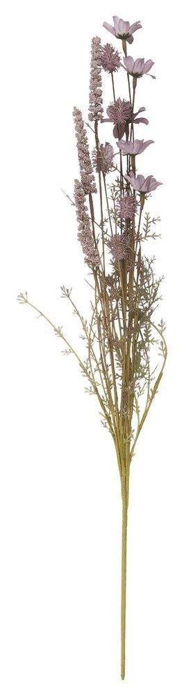 Ib Laursen Kunstblumen Stängel lila/grüntöne