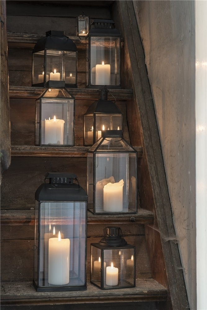 Impressionen zu Ib Laursen Laterne Norr schräg Glastop, Bild 1