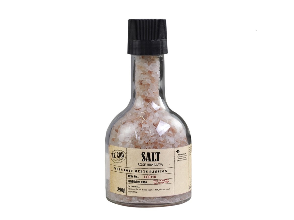 LE CRU Rosa Himalaya Salz mit Mühle