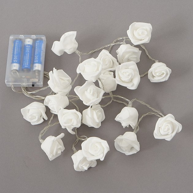 Boltze Lichterkette Rose, LED