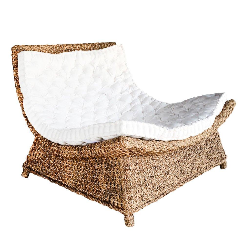 Bazar Bizar Lounge Sessel Wasserhyazinthe
