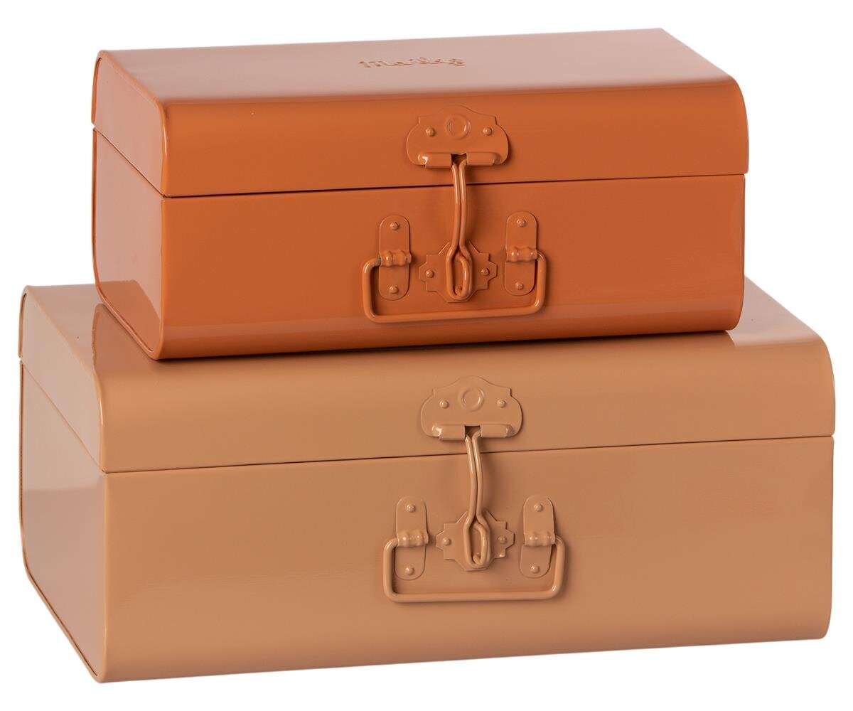 Maileg 2er Set Koffer für Aufbewahrung