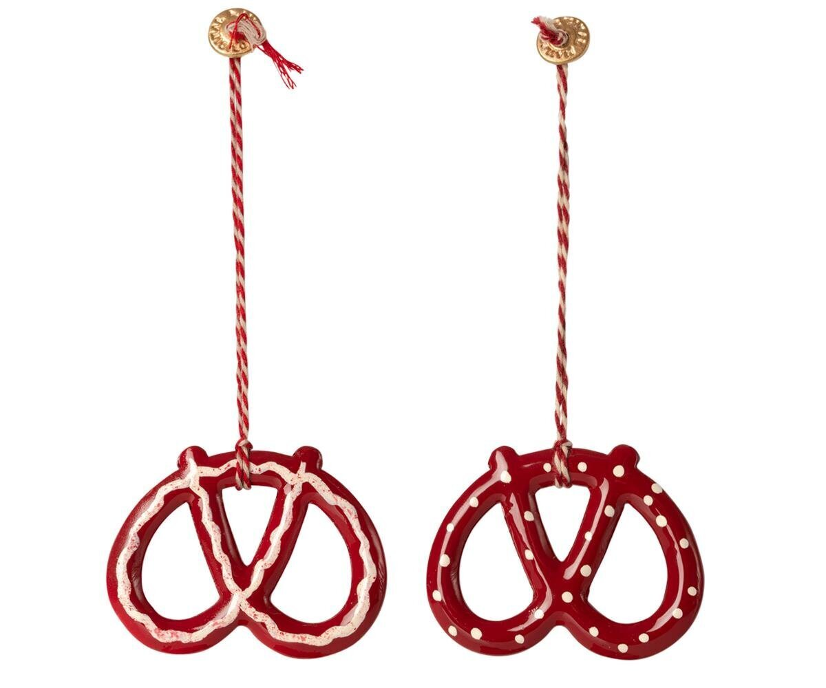 Maileg Bretzel Ornament 2er Set