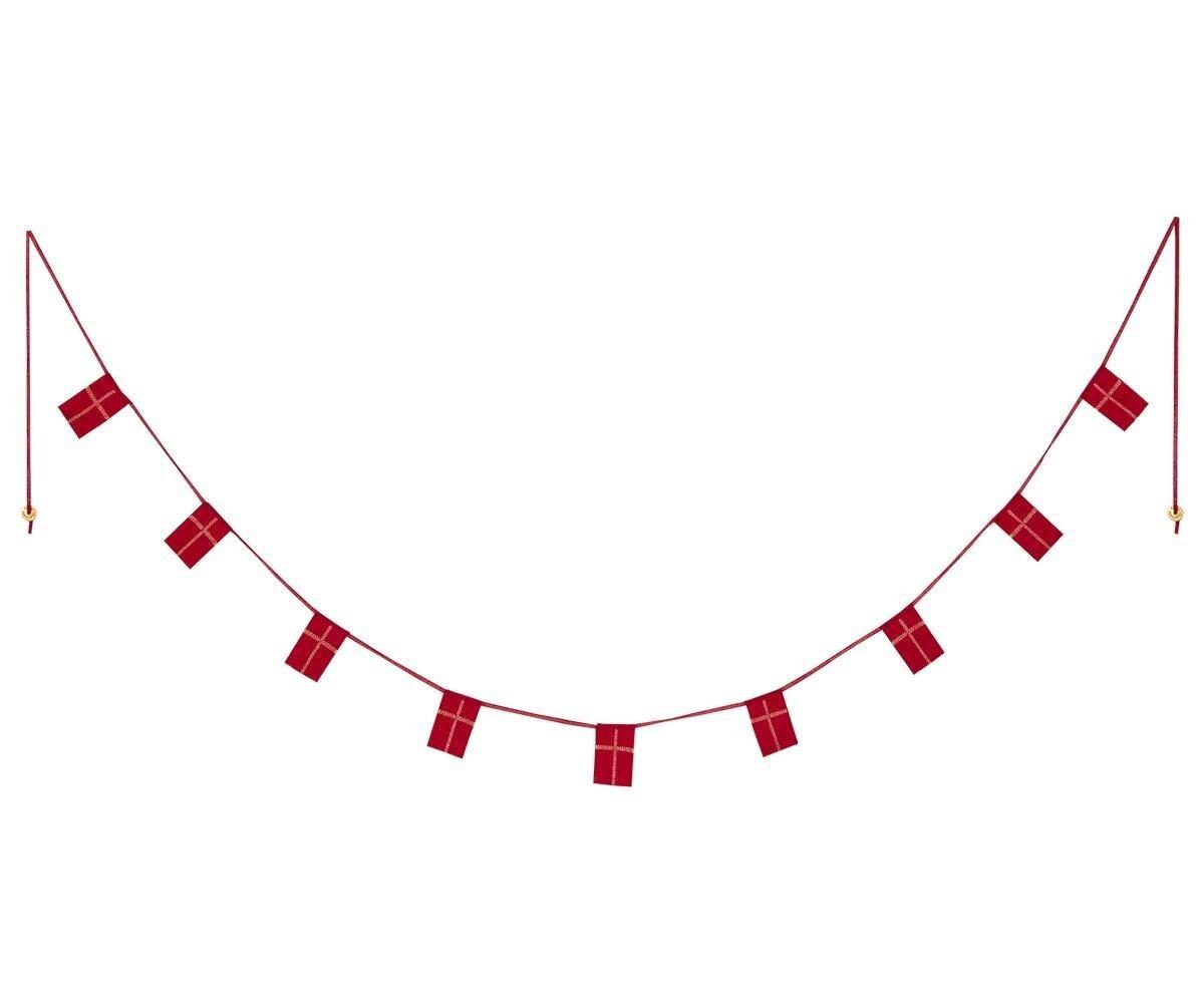 Maileg Dänemark Girlande mit 9 Flaggen
