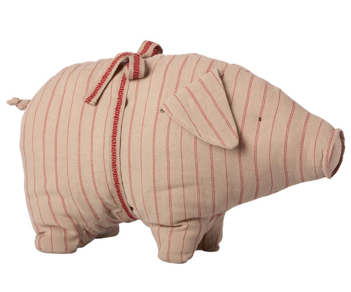 Maileg Medium Schweinchen mit Streifen
