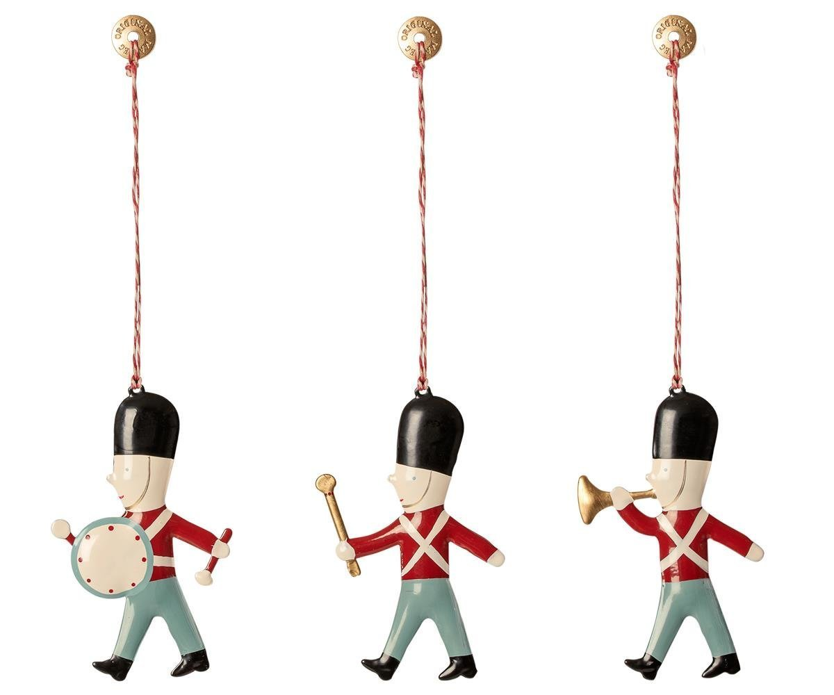 Maileg Ornament Box mit Guards 3er Set