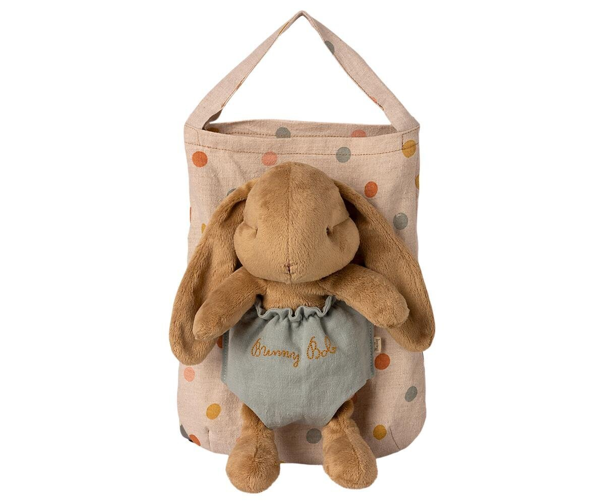 Maileg Stofftier Hase mit Tasche