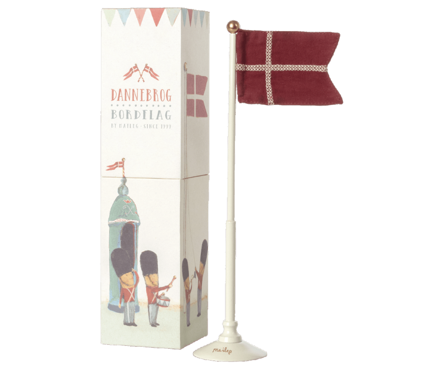 Maileg Tischflagge Dänemark Dannebrog