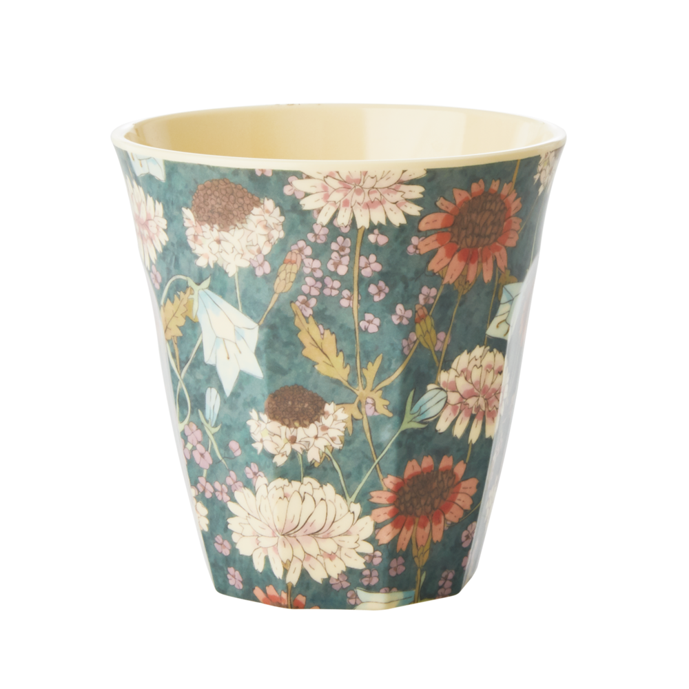 RICE Melamin Becher Fall Flower Medium