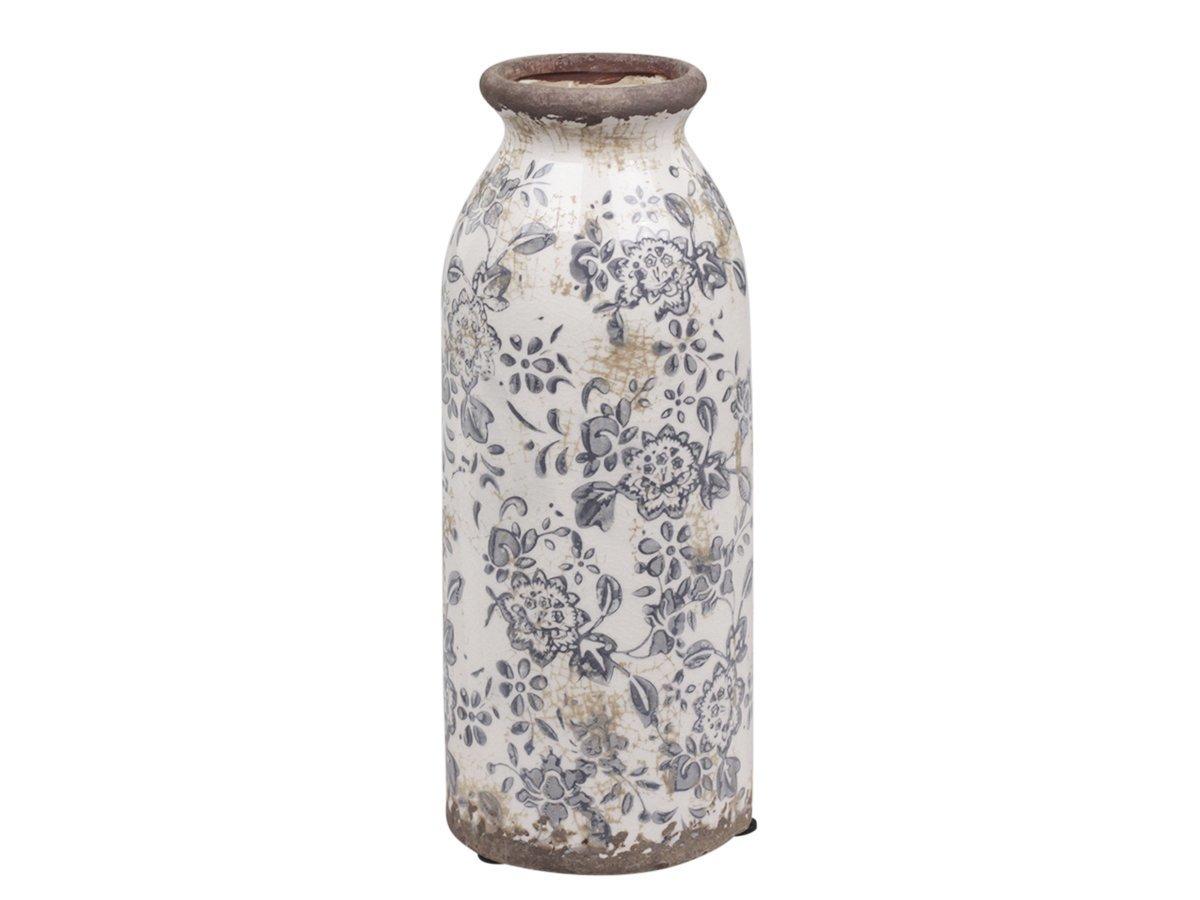 Chic Antique Melun Flasche mit französischem Muster