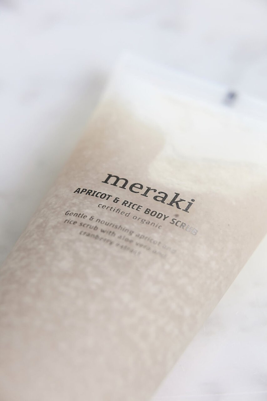 Impressionen zu Meraki Aprikose & Reis Body Scrub Peeling, Bild 1