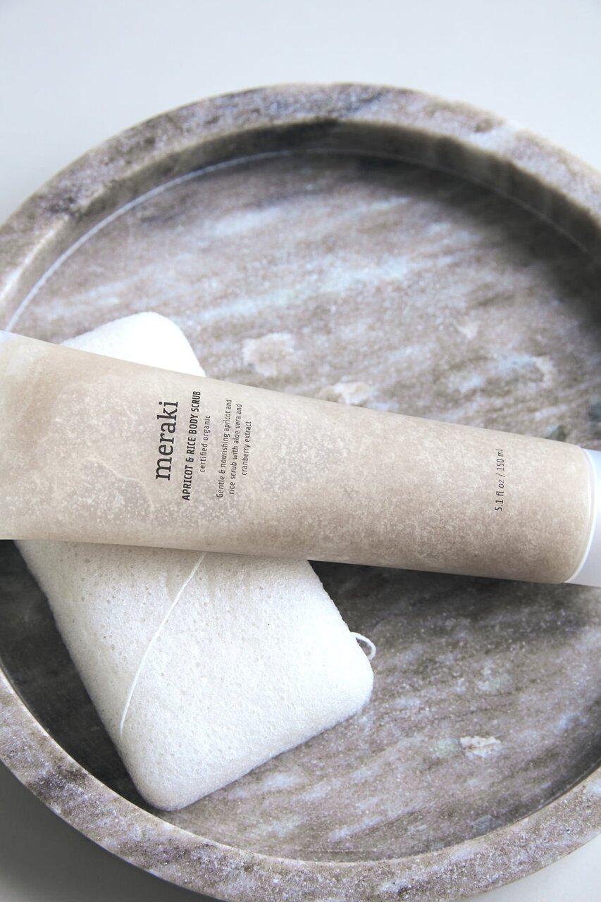 Impressionen zu Meraki Aprikose & Reis Body Scrub Peeling, Bild 2