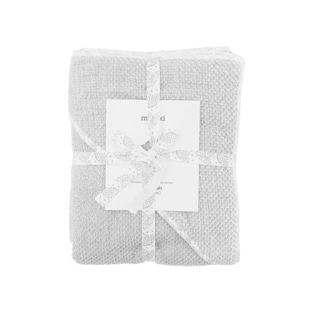 Meraki Baby-Handtuch Mini Grau