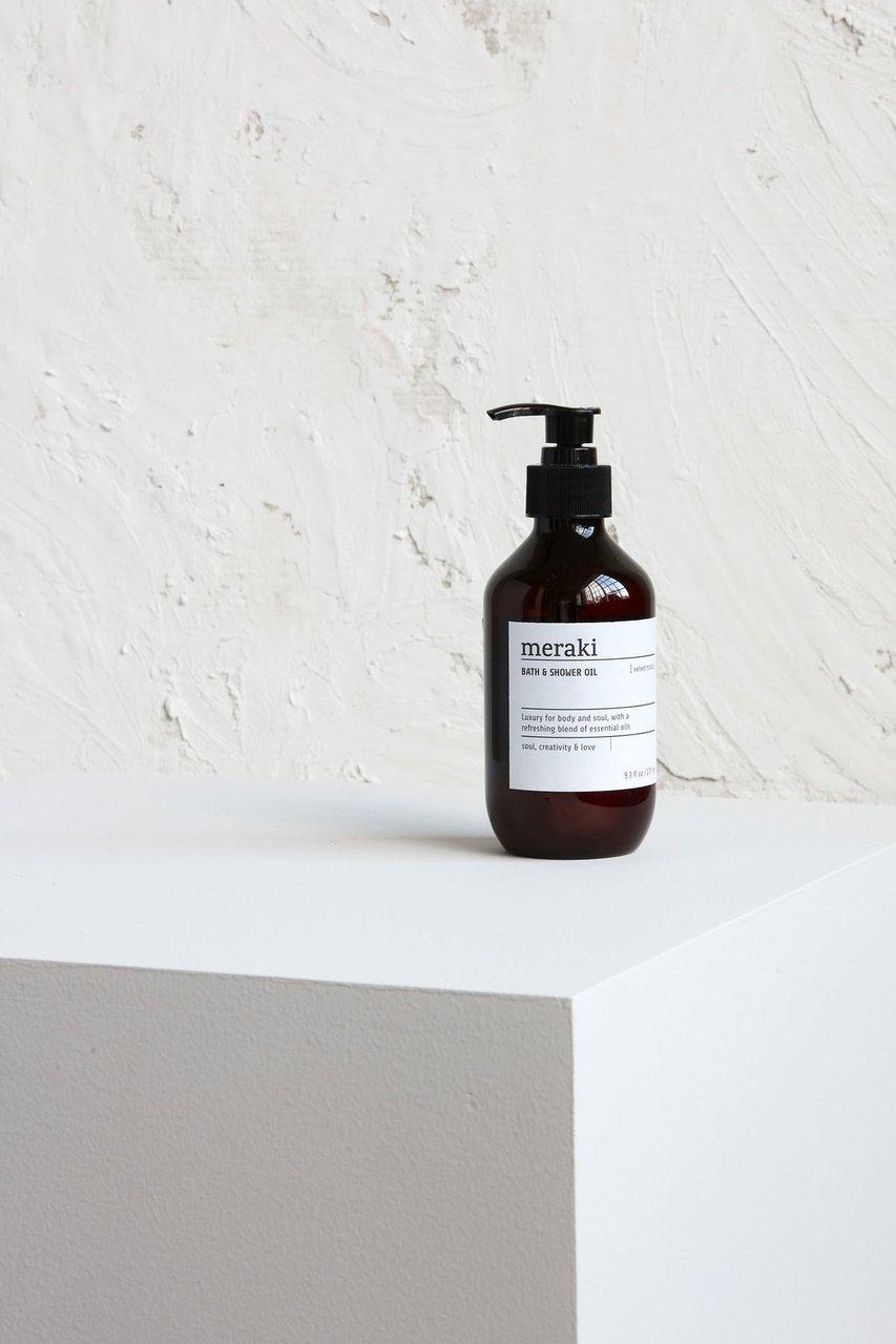 Impressionen zu Meraki Dusch und Badeöl Velvet mood, Bild 3