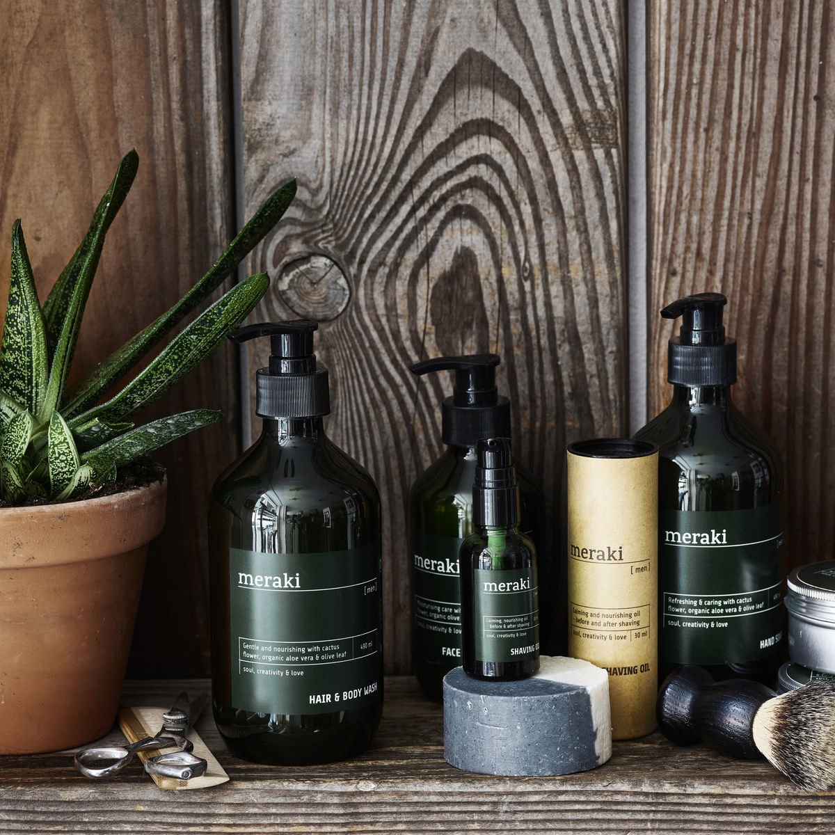 Impressionen zu Meraki Shampoo & Duschgel Men, Bild 2